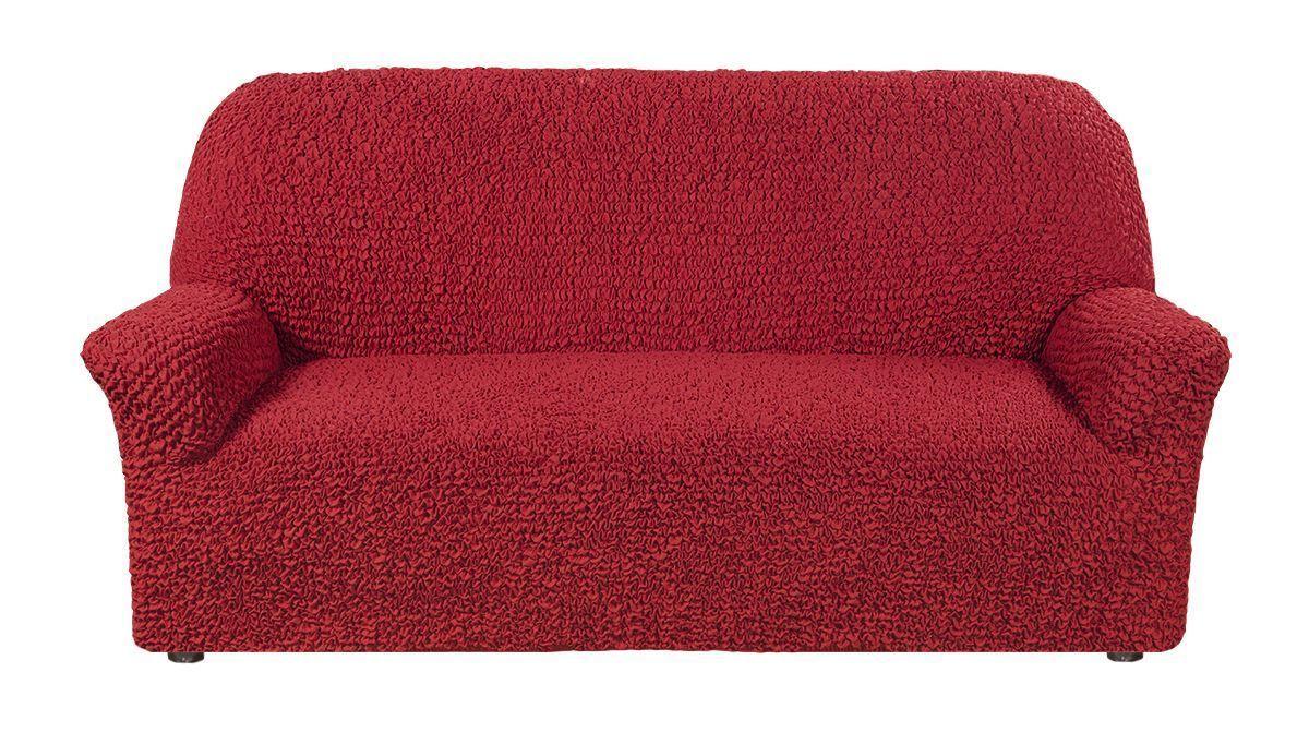 Чехол на 4-х местный диван Микрофибра Красный